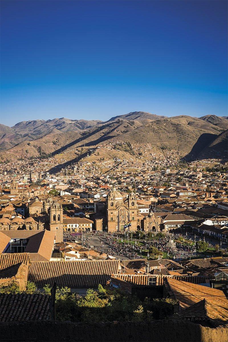 09 plaza armas Cuzco inca Vilcabamba. El Centro del poder
