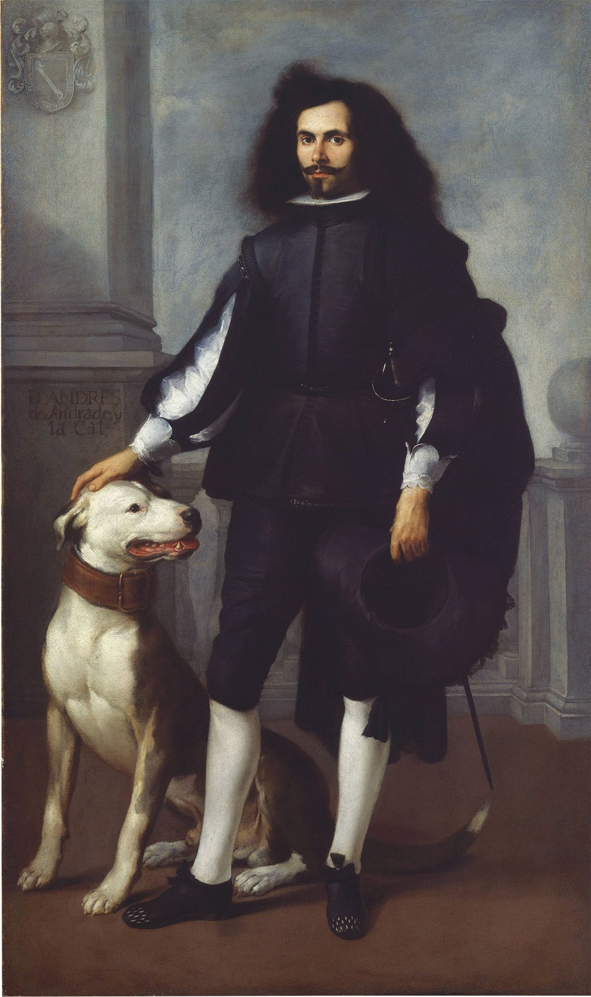 don-andres-de-andrade-obra-murillo. Don Andrés de Andrade. Murillo. 1656-1660. Museo Metropolitano, Nueva York