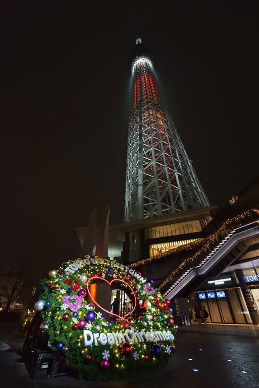 Tokio en Navidad. Navidad especial en Tokio