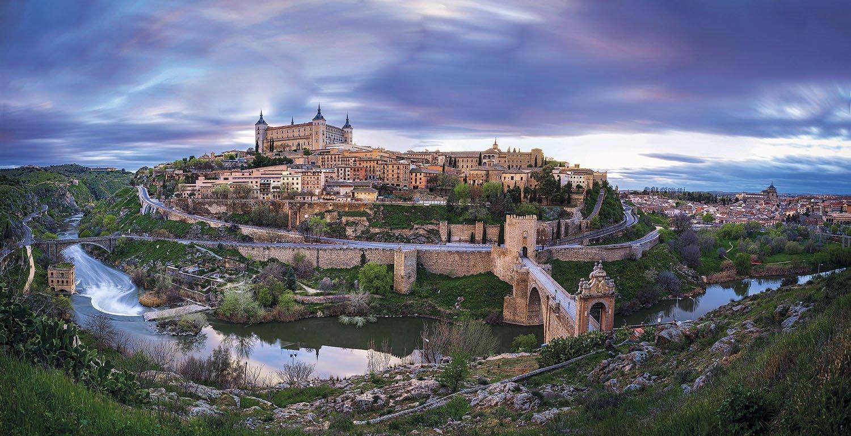 Alcazar de Toledo. Ciudad histórica de Toledo