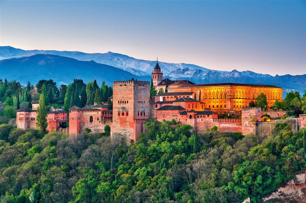 alhambra. Alhambra, Generalife y Albaicín de Granada
