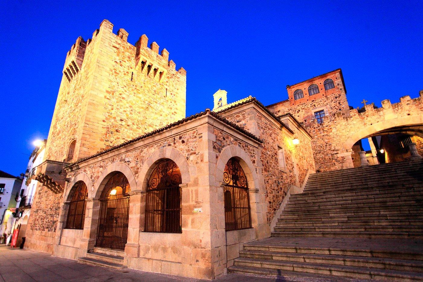 ciudad-vieja-caceres. Ciudad vieja de Cáceres