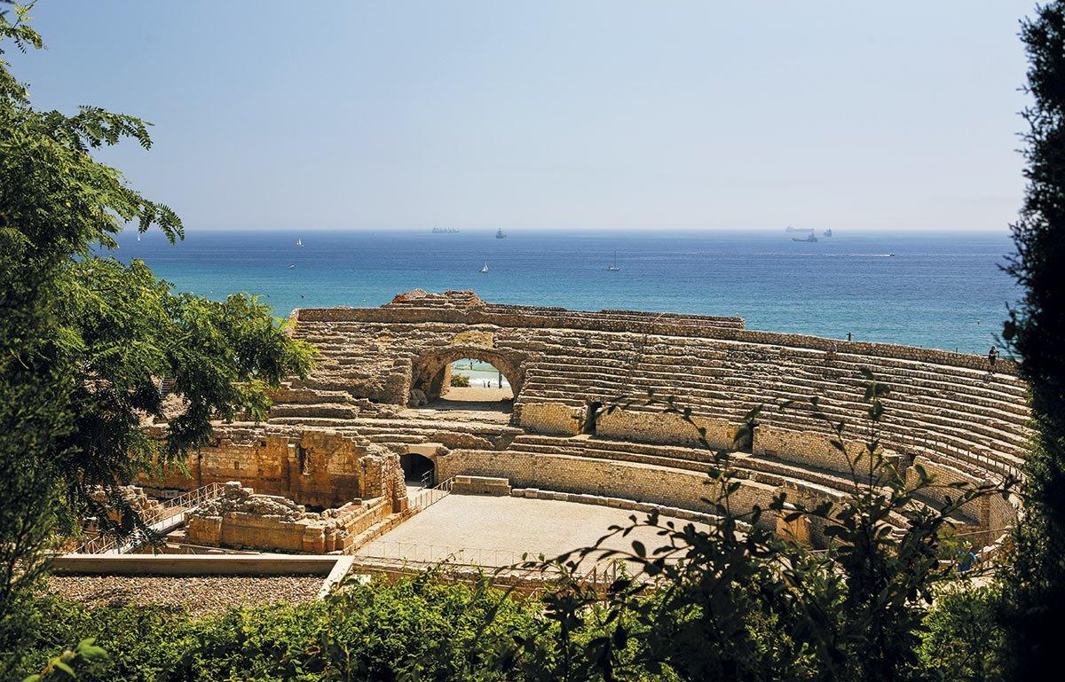 El anfiteatro romano de Tarragona. Conjunto arqueológico de Tarragona