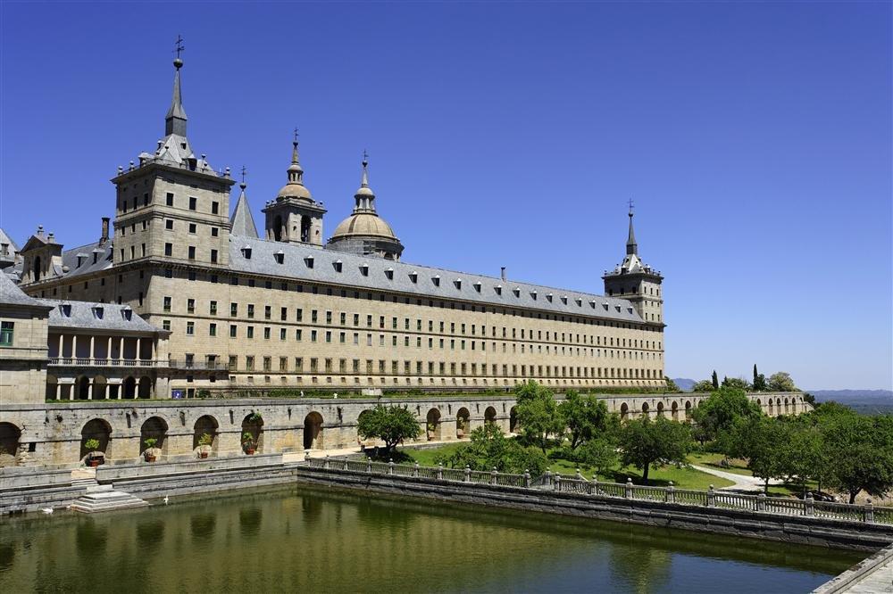 El Escorial. Monasterio y sitio de El Escorial en Madrid