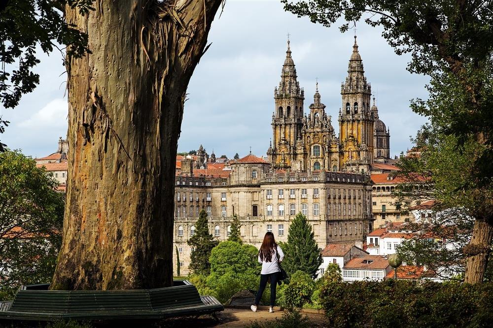 N28-2062975. Ciudad vieja de Santiago de Compostela