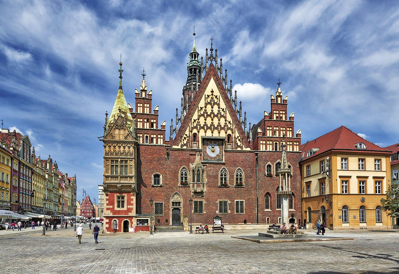 Breslavia - Ayuntamiento. Breslavia