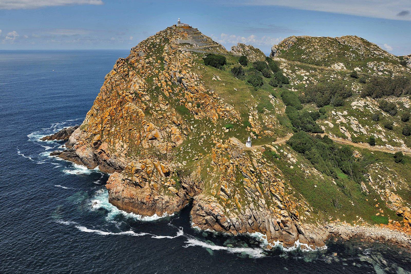 Islas Cíes. Puerto de Vigo, Cangas y Baiona