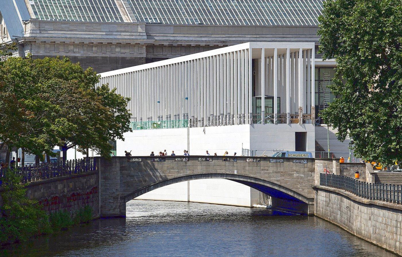 nuevo-acceso-isla-de-los-museos. Un acceso abierto en el verano de 2019