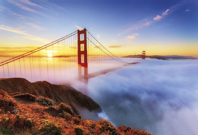 "Golden Gate San Francisco. ""Viajes con Charlie"", John Steinbeck"