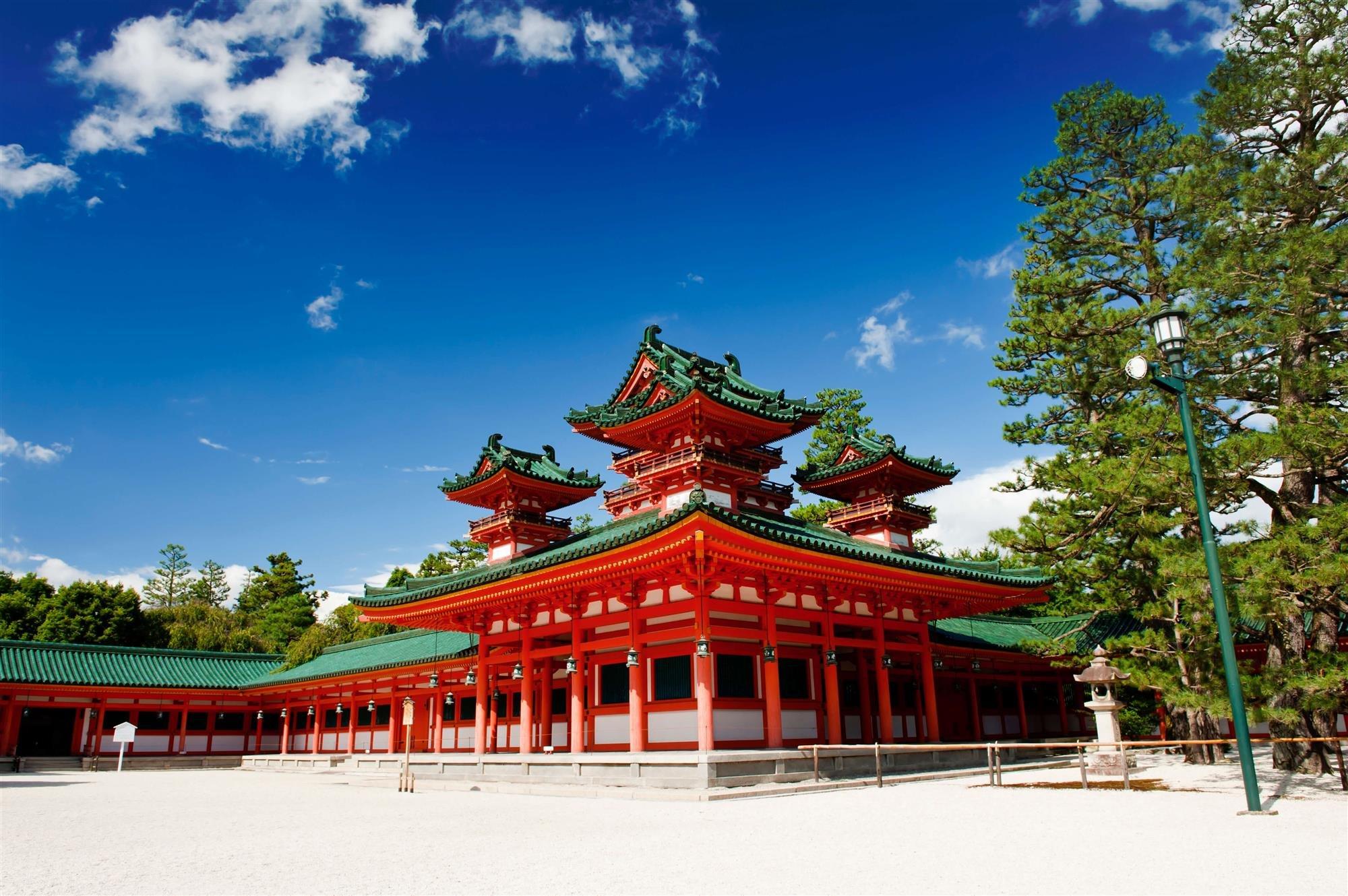 """Heian Jingū, Kioto, Japón. """"Viaje al Japón"""", Rudyard Kipling"""