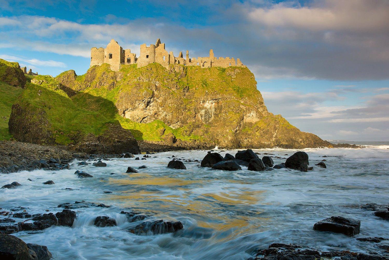 Irlanda del Norte y Juego de Tronos. Castillo de Dunluce