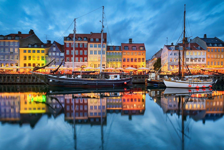 Copenhague-Dinamarca. Copenhague, Dinamarca