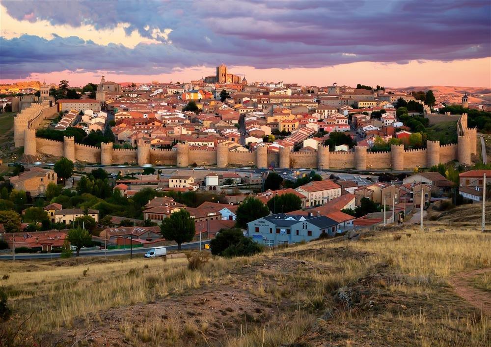 ávila. Ávila, la ciudad mística