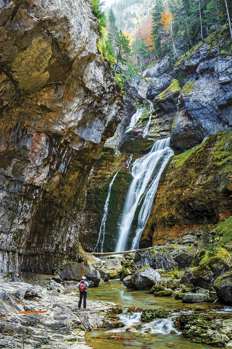 Cascada - Ordesa. Ruta de las Cascadas