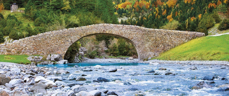 Puente de Bujaruelo Ordesa. Puente de Bujaruelo