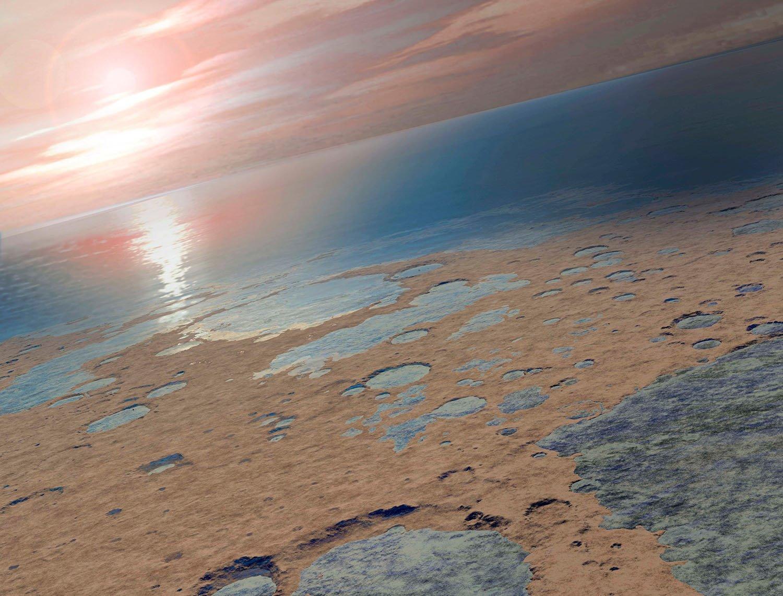 En busca de agua en Marte