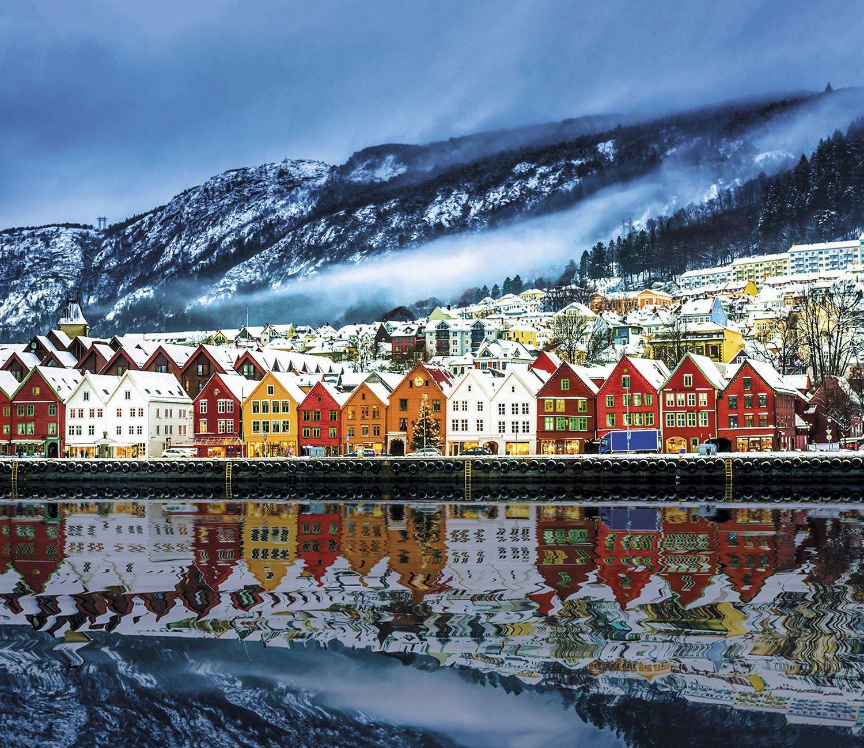 Bergen - Noruega. Bergen