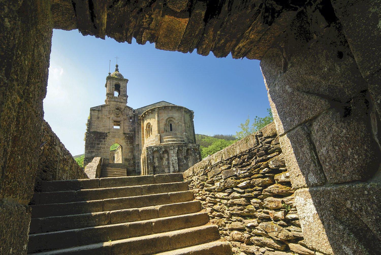 Iglesia de Caaveiro - Galicia. Caaveiro
