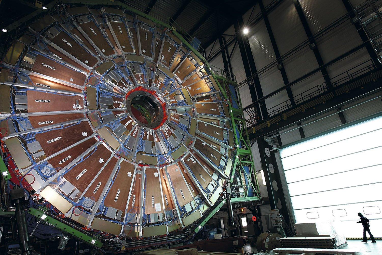 Así es el gran colisionador de hadrones