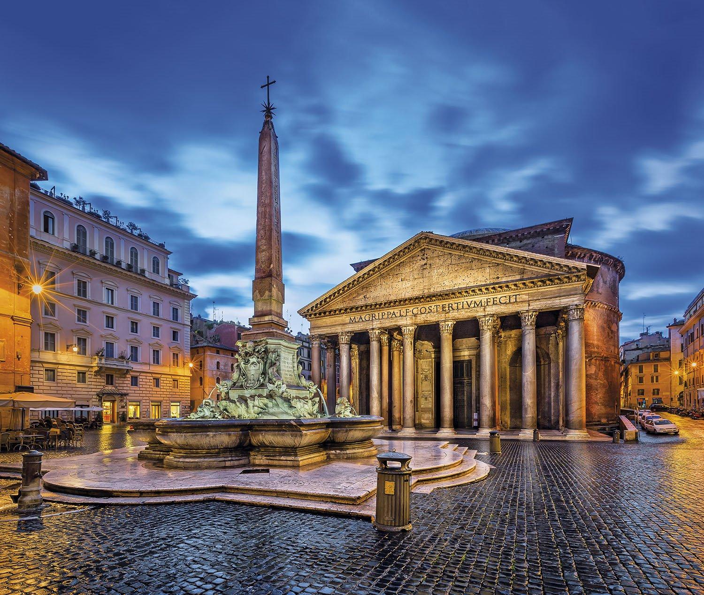 plaza de la rotonda - Roma. El Panteón