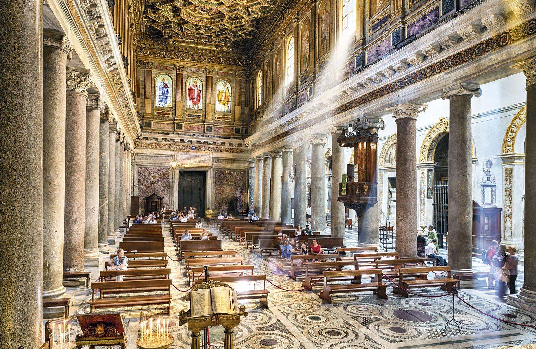 Santa Maria Trastevere - Roma. Santa Maria in Trastevere