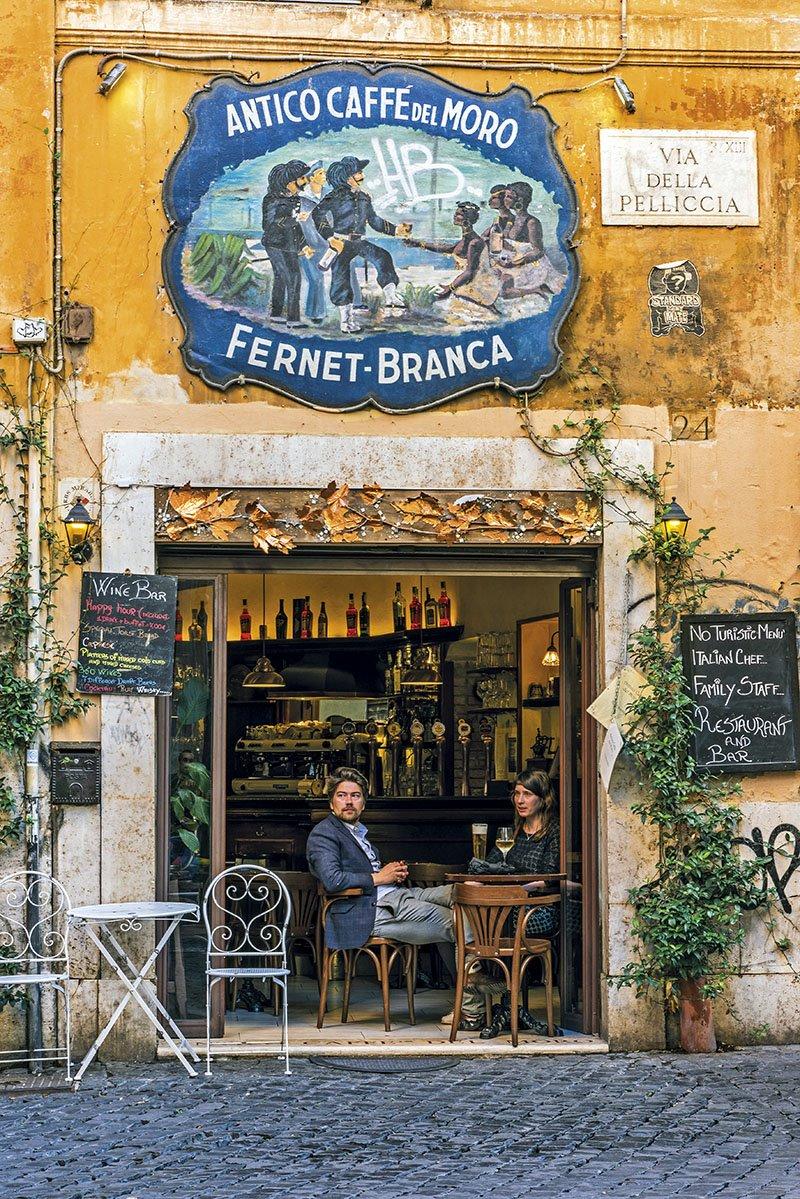 Trastevere - Roma. Barrio del Trastevere