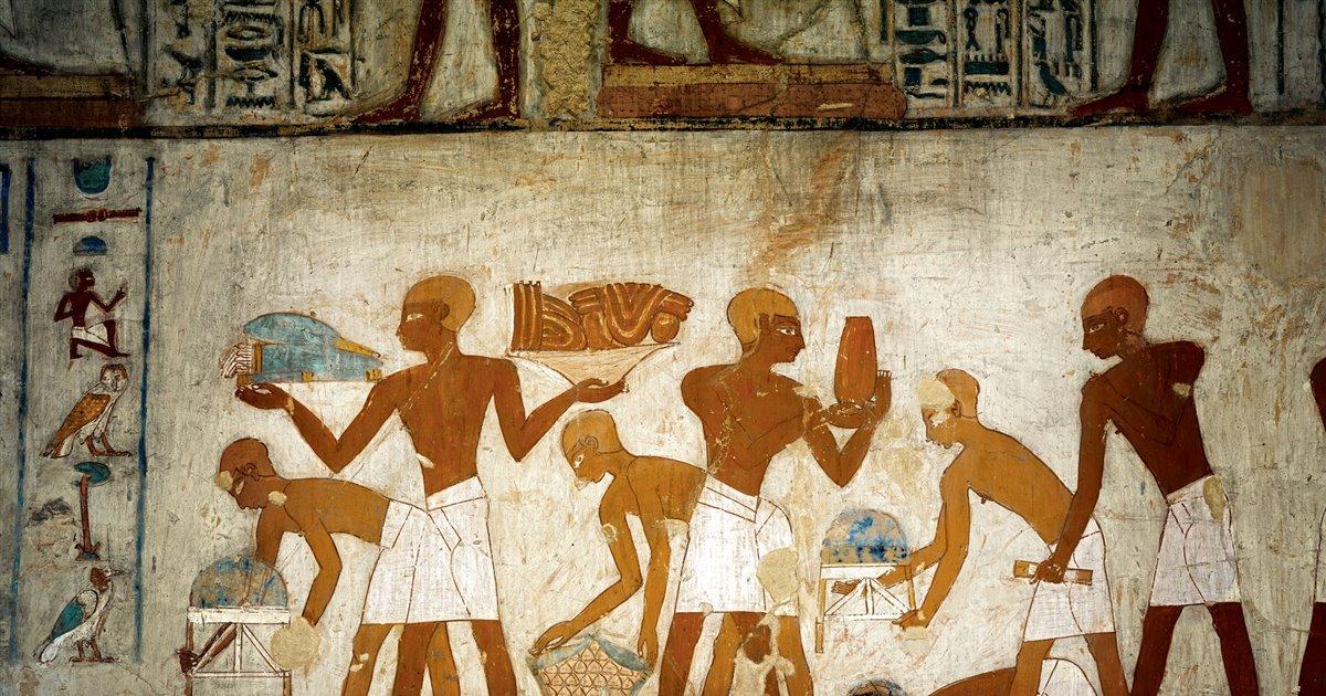 El Pago De Los Impuestos En El Antiguo Egipto