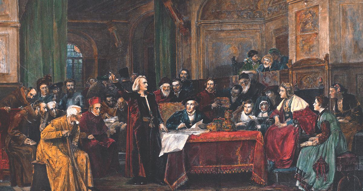 Colón y los Reyes Católicos