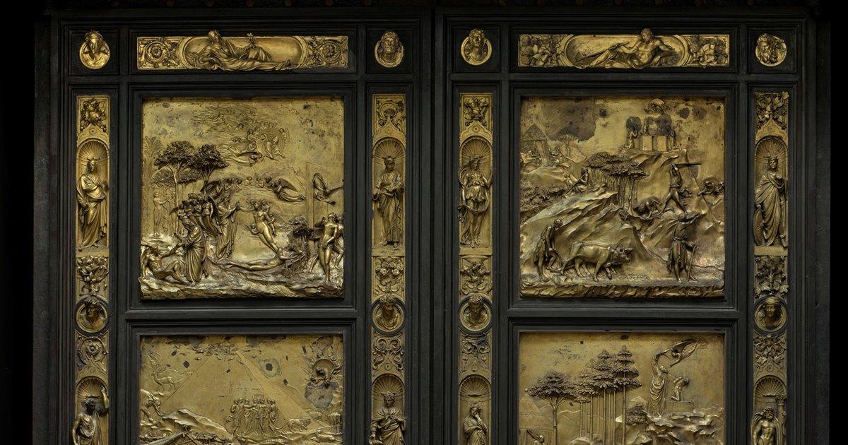 Florencia Vuelve A Exhibir La Puerta Del Paraiso