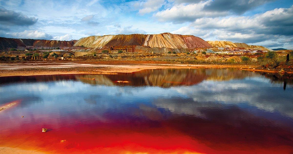 Río Tinto es Marte en la Tierra