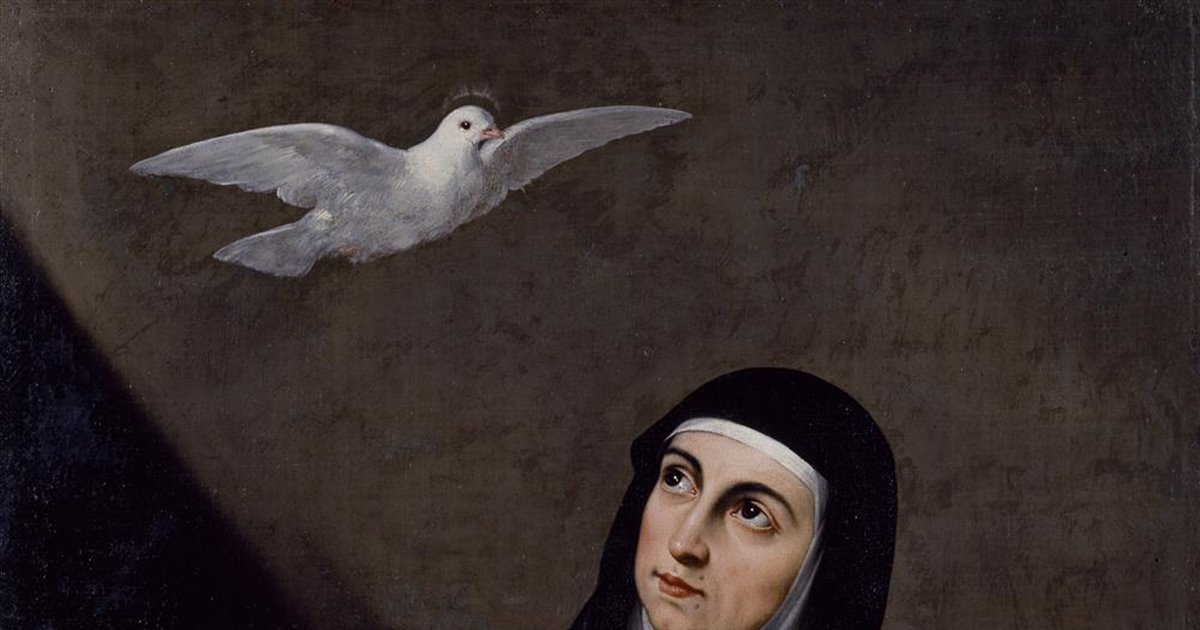 Resultado de imagen para SANTA TERESA DE JESÚS y su angel de la guarda