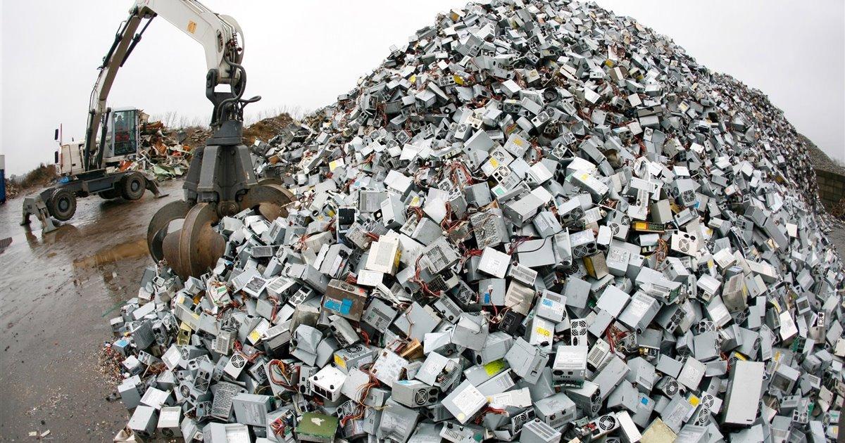 Los peligros de la basura electrónica
