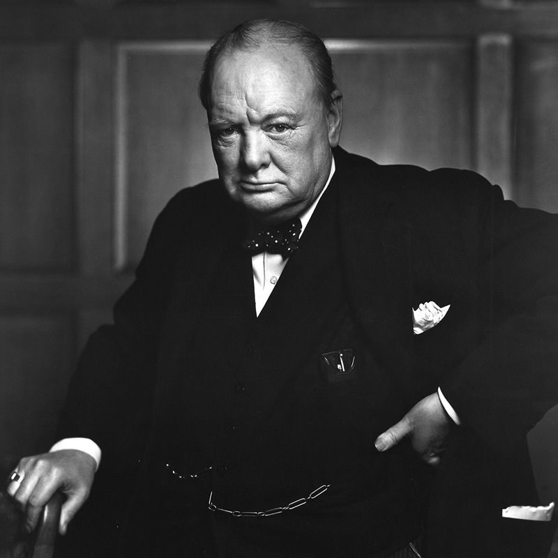 1-Sir Winston Churchill