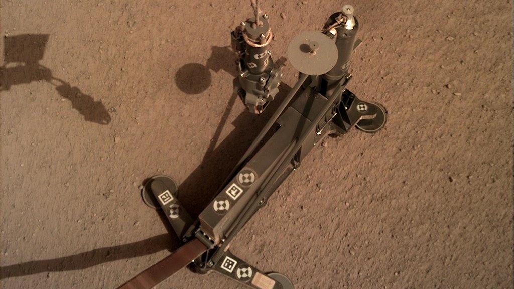 La misión InSight ha empezado a taladrar el suelo de Marte
