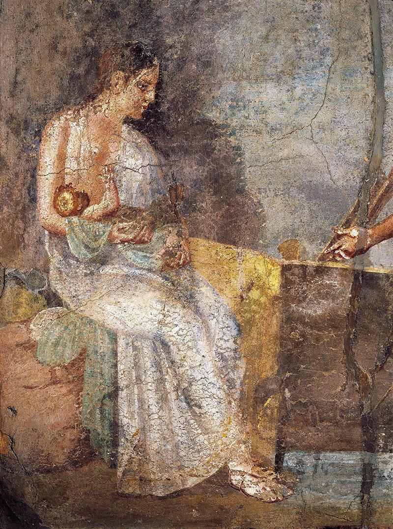 Las nodrizas, madres de sustitución en Roma