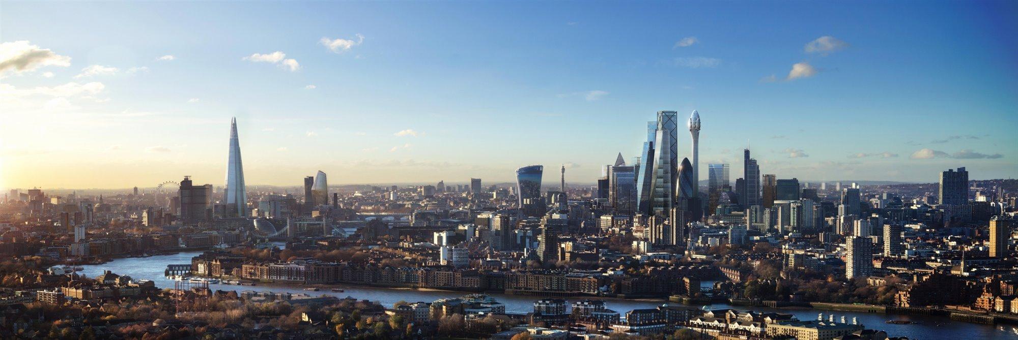 Skyline de Londres en 2025