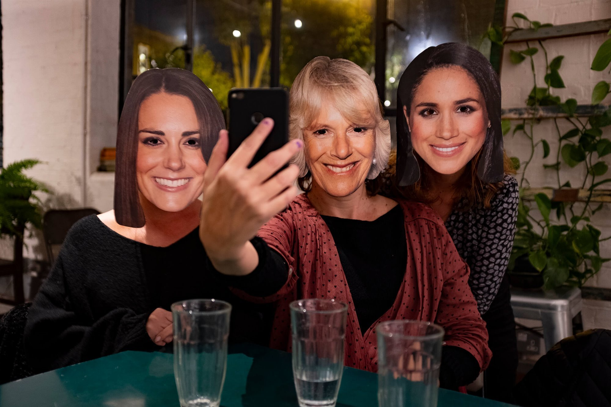 I wish we were Camilla, Kate and Meghan