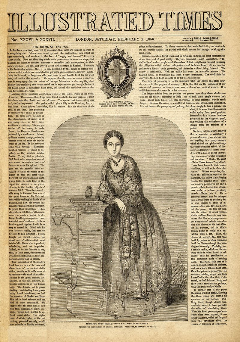 05 florence nightingale illustrated times guerra crimea. Celebridad a su pesar