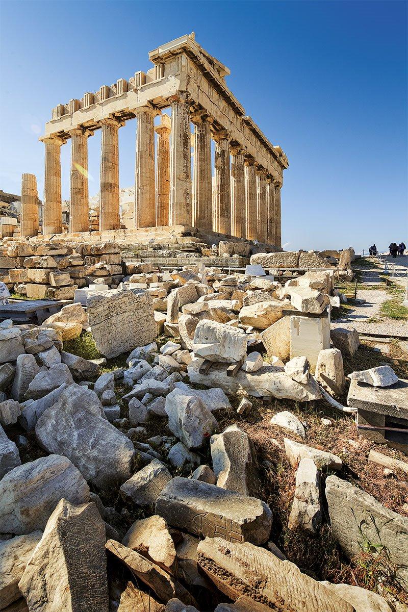 04 acropolis partenon Atenas Socrates. 15 años de rehabilitación