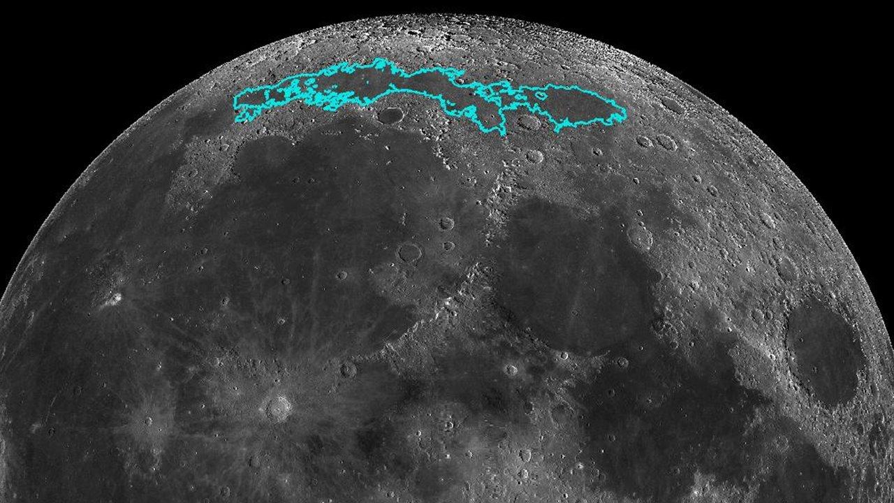 Descubierta Una Enorme Masa Metálica Bajo El Suelo De La Luna