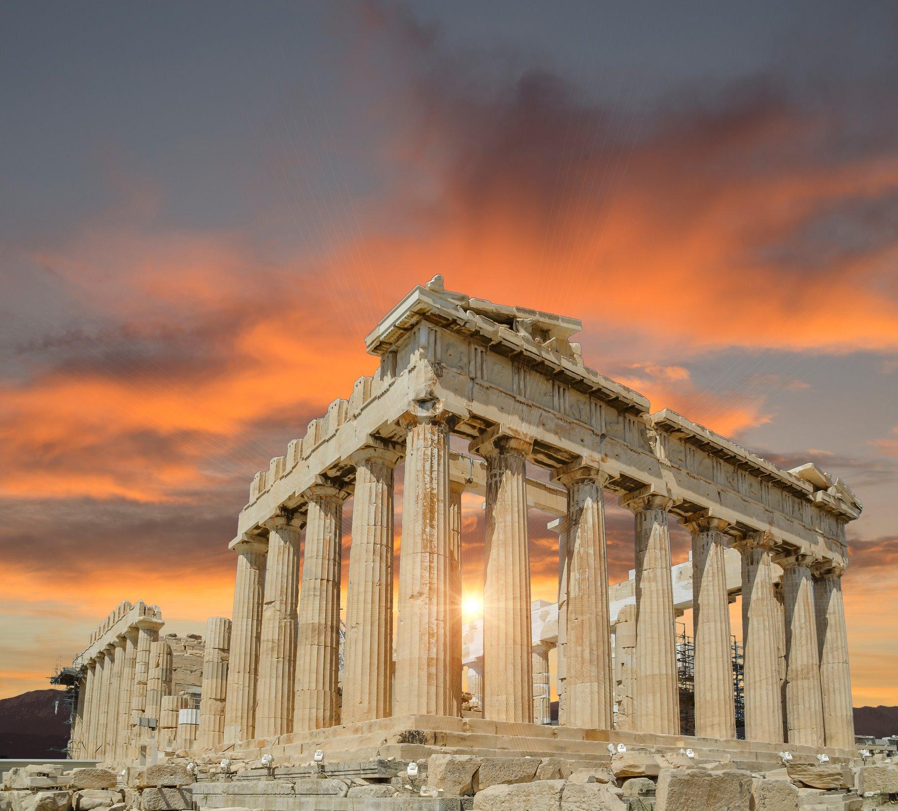 Recuperar la geometría del Partenón
