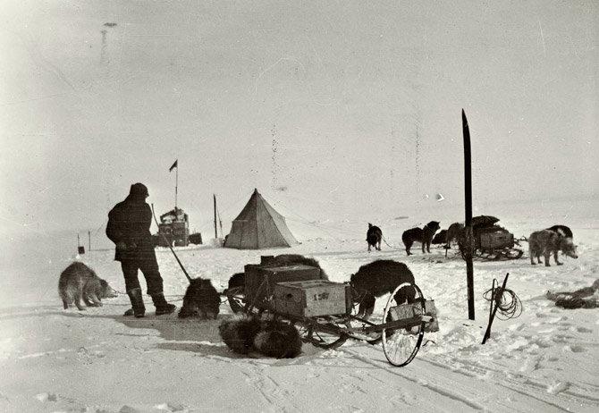 amundsen07. Provisiones para el viaje