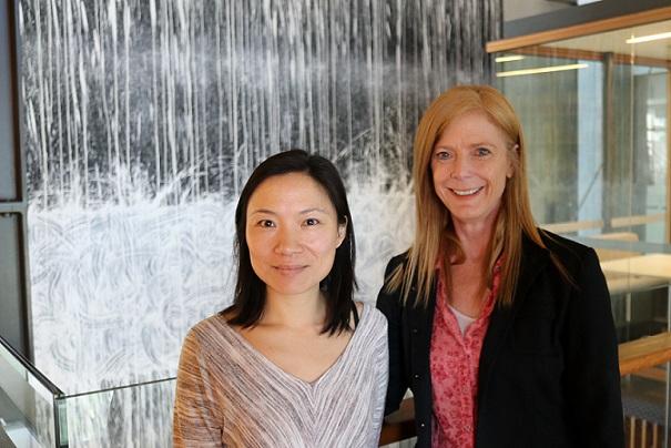 Las investigadoras Eva Chan y Vanessa Hayes son coautoras del estudio