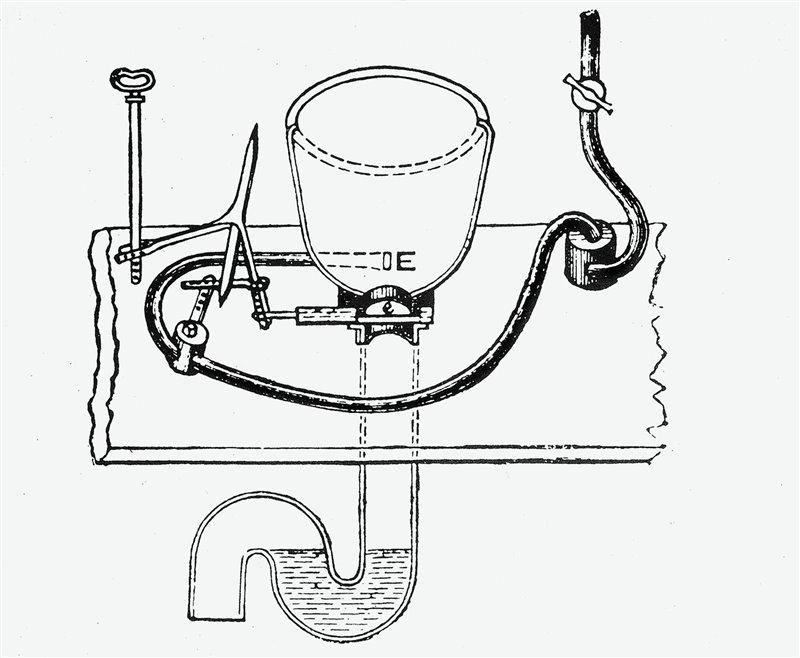 El nacimiento del inodoro