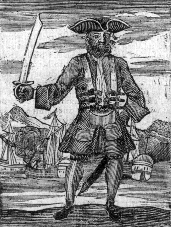 Cuando apresó a la nave Great Allen, que transportaba un valioso cargamento, Barbanegra se hizo famoso.