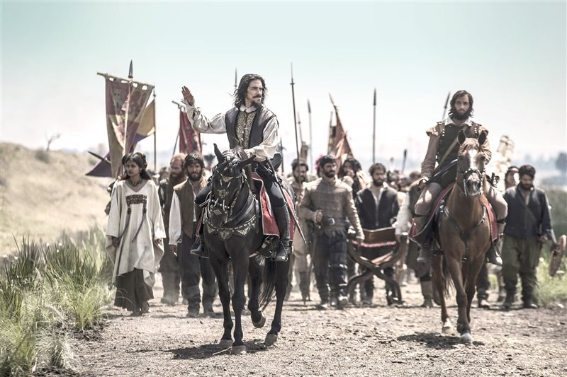 Óscar Jaenada confiesa que apenas conocía el personaje de Hernán Cortes y que, lo que sabía, era más bien incorrecto.