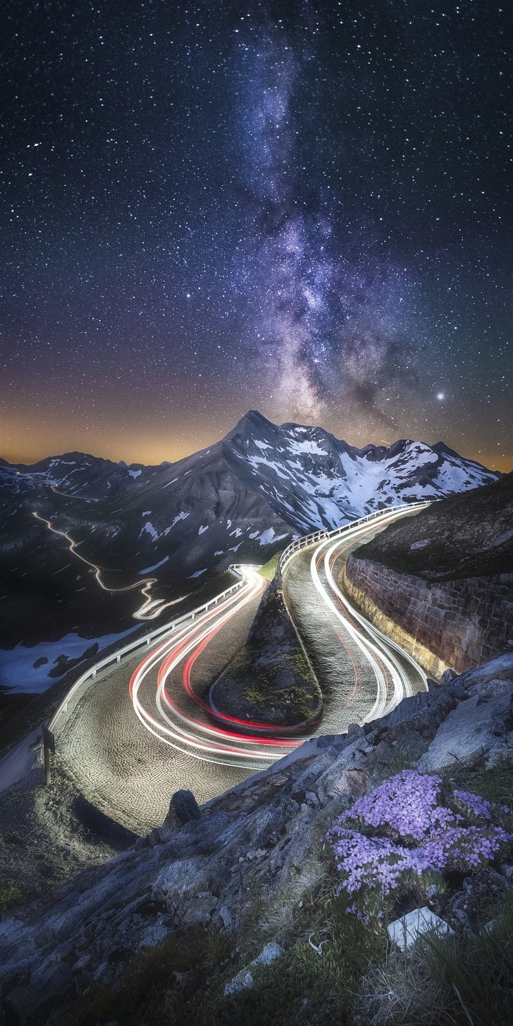 Milky Way- Grossglockner High Alpine Road