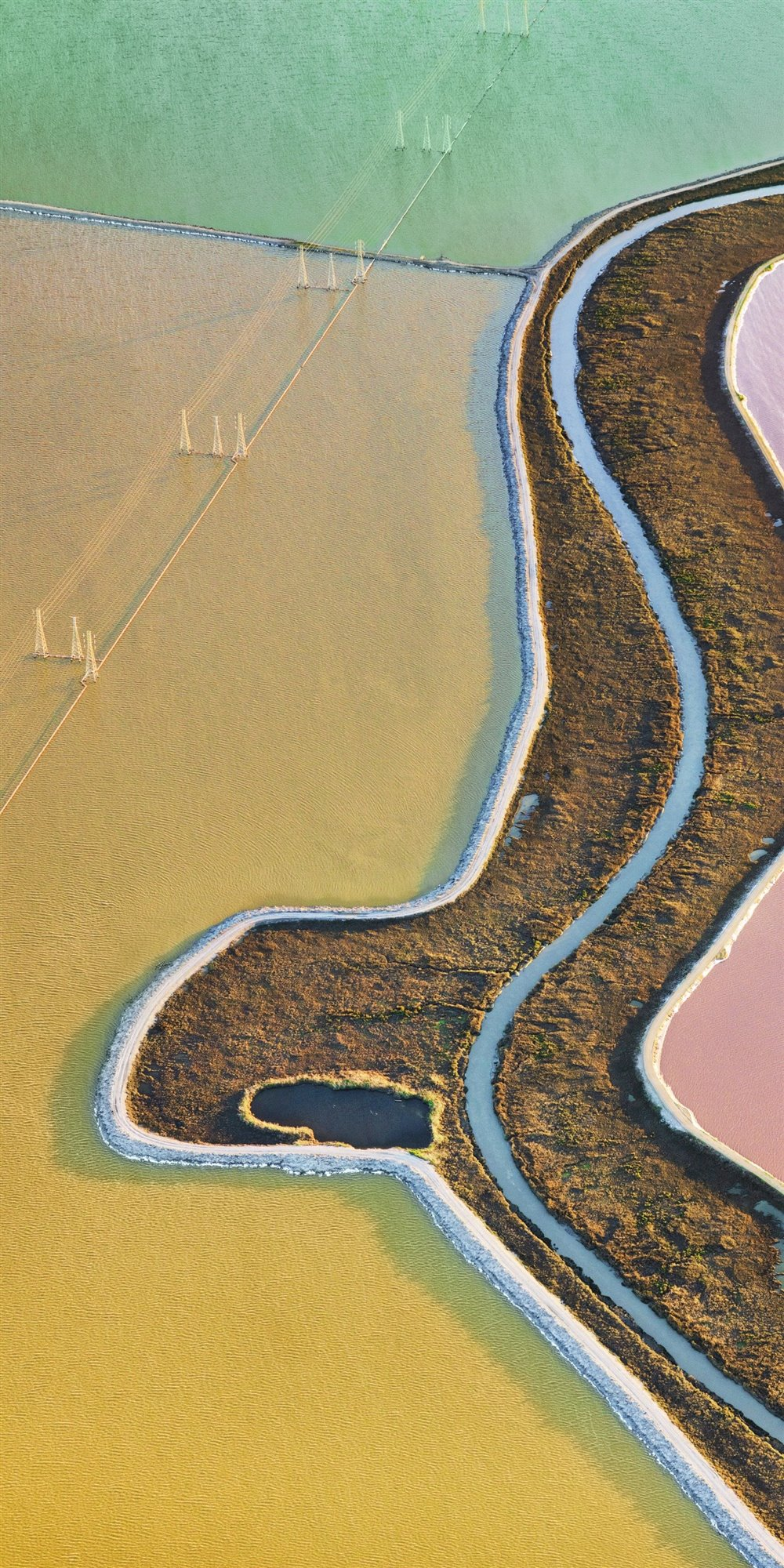 Usa Salt Ponds