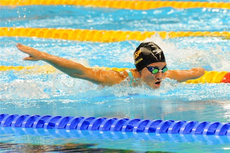 Final de los 200 metros estilos en 2016, en Río de Janeiro, donde ganó una medalla de plata.