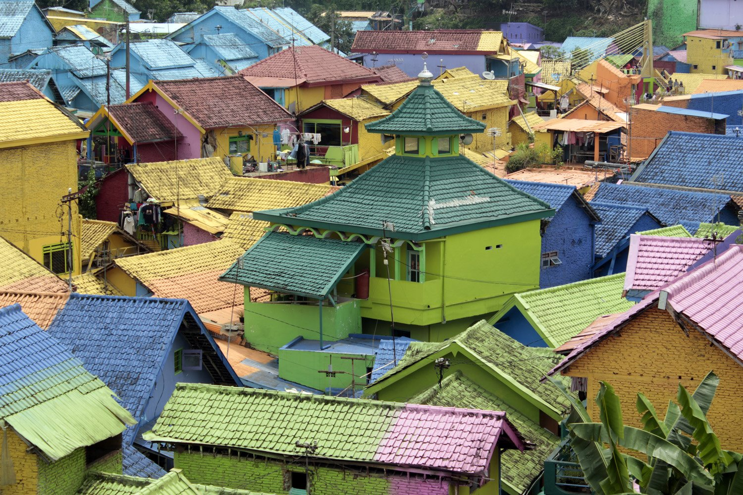 Malang, Indonesia - A colourful city